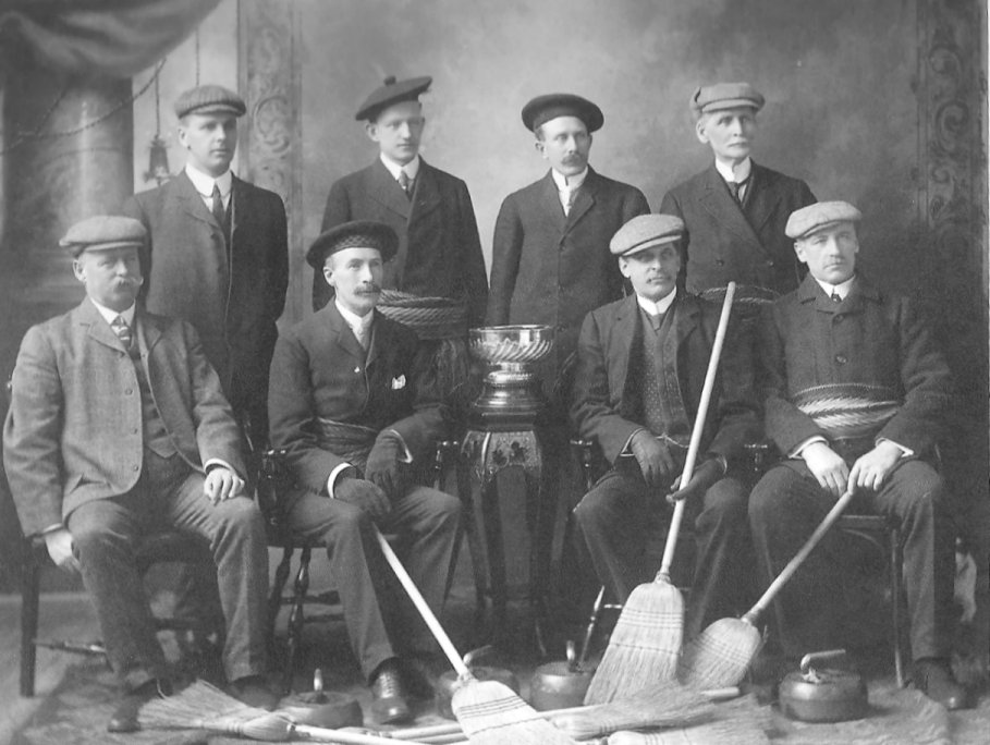 Rideau Curling Club, Ottawa, Ontario, Canada, 1908