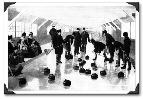 Topley Photo of Curling at Rockliffe, Ottawa