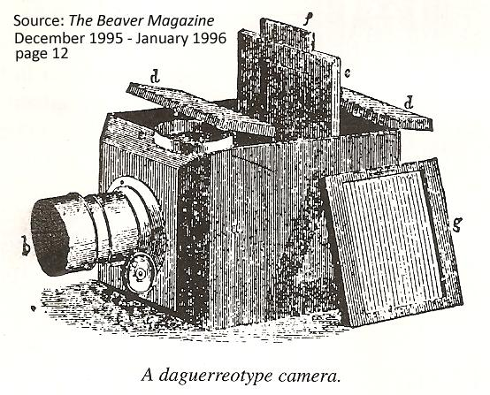 A Daguerrotype Camera, invented in the 1830's in France