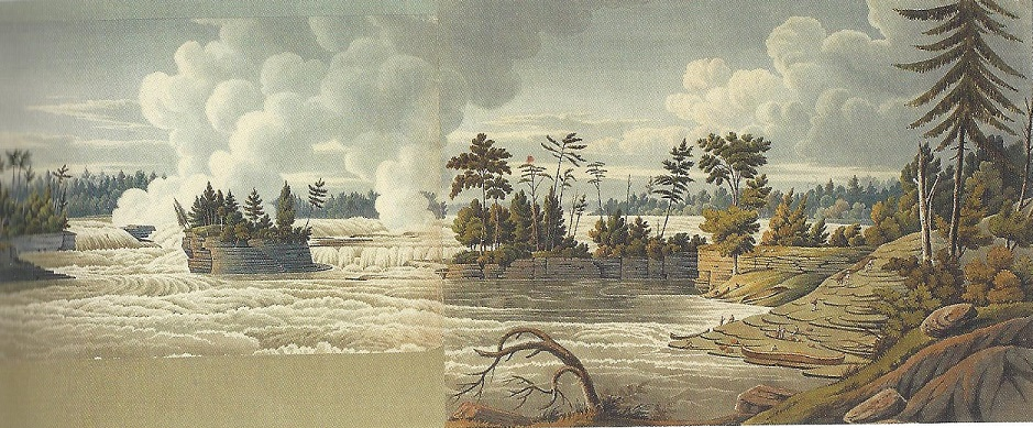 Chaudiere Falls, as virgin territory