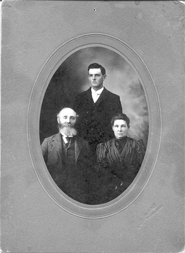Joseph Elias D'Arcy, wife Essy Ann, Son Benjamin