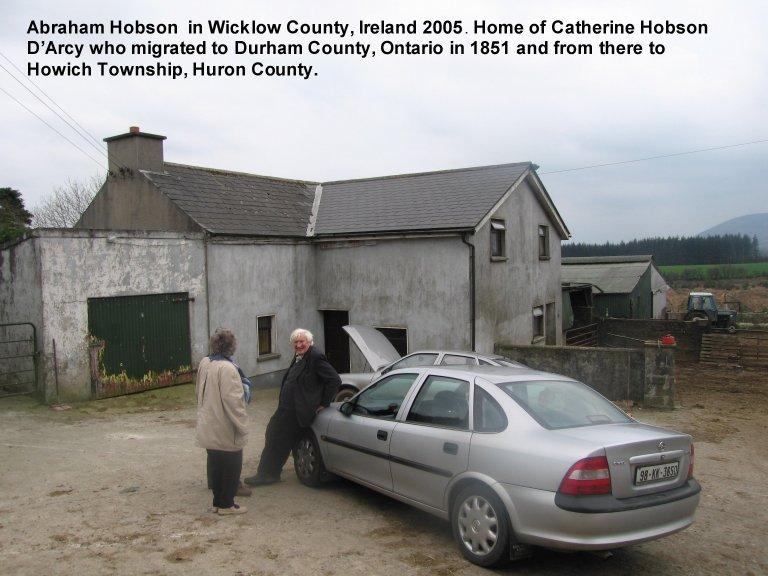 DARCY Homestead in Knocknaboley, County Wicklow. Ireland