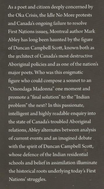 Duncan Campbell Scott, book by Mark Abley (2)