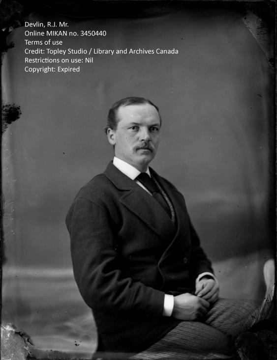 Photograph of Robert James Devlin