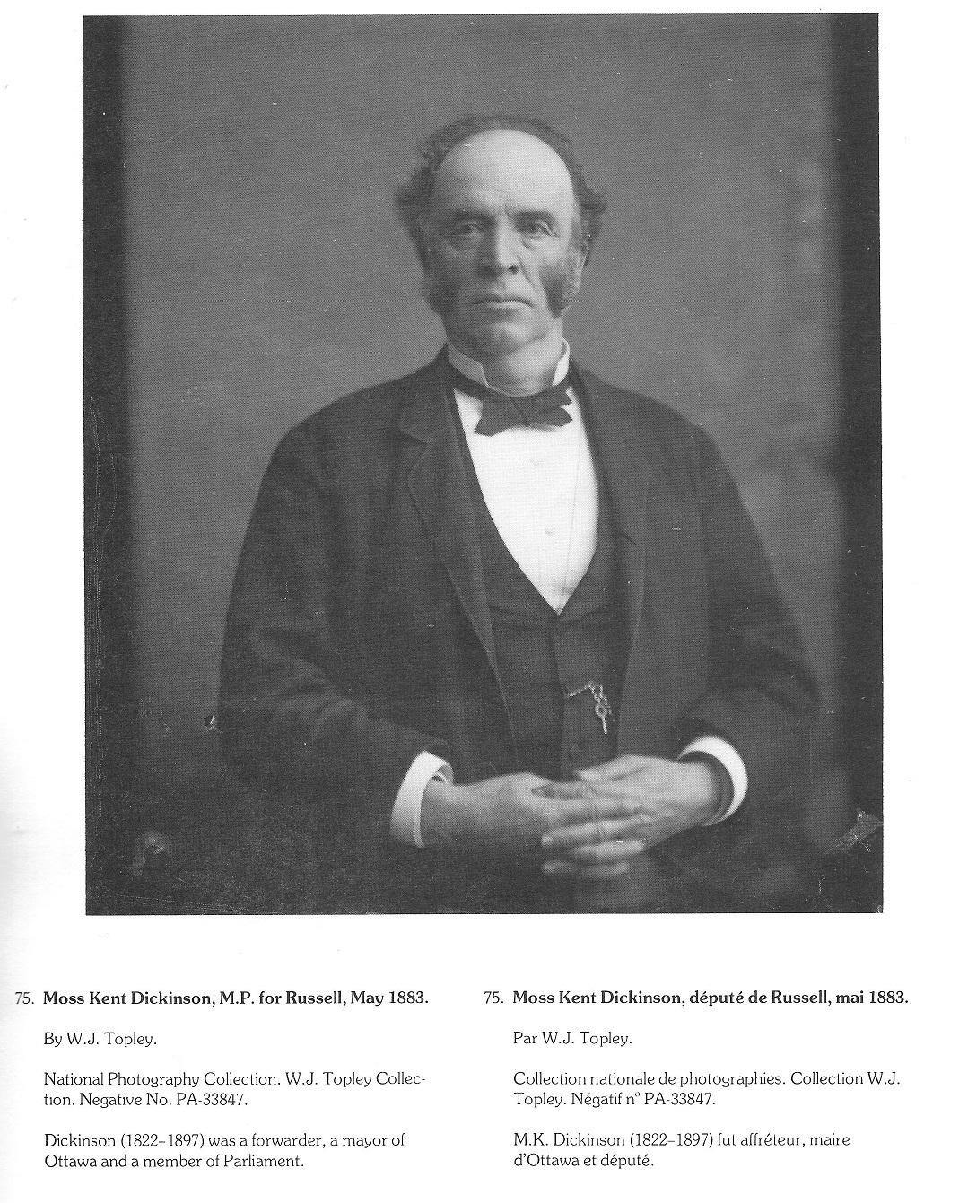 Moss Kent Dickinson, Manotick, Ontario, Canada
