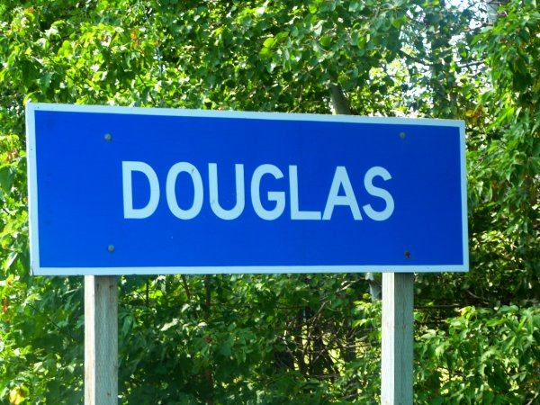 Sign for Douglas