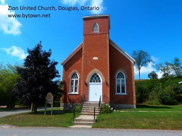 Zion United Church, Douglas, Ontario