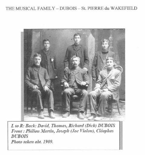 Dubois Family c. 1909