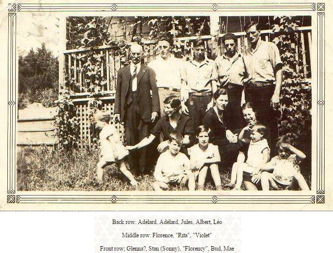 The Sauve family (1) of the Dumoine River, Quebec, Canada