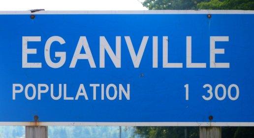 Sign for Eganville