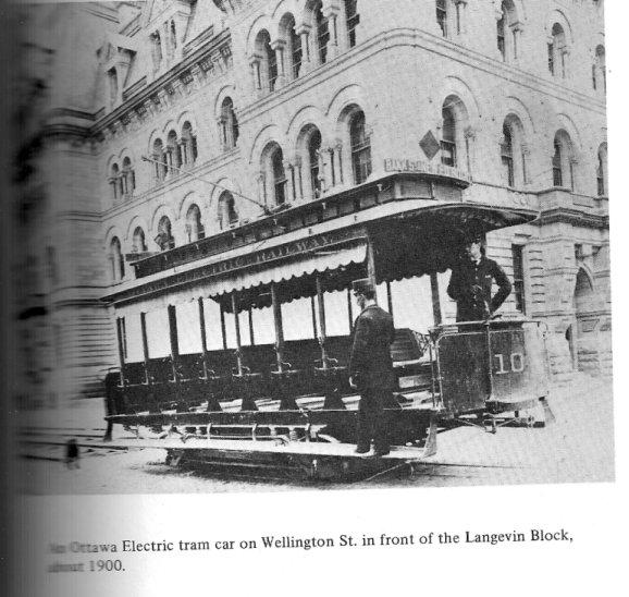 Early Streetcar in Ottawa