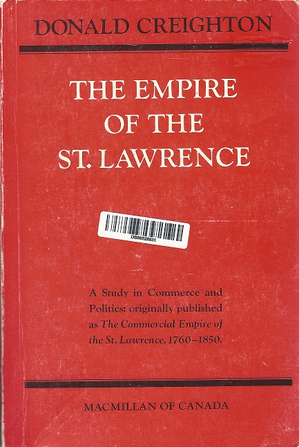 Empire of the St. Lawrence Book Cover