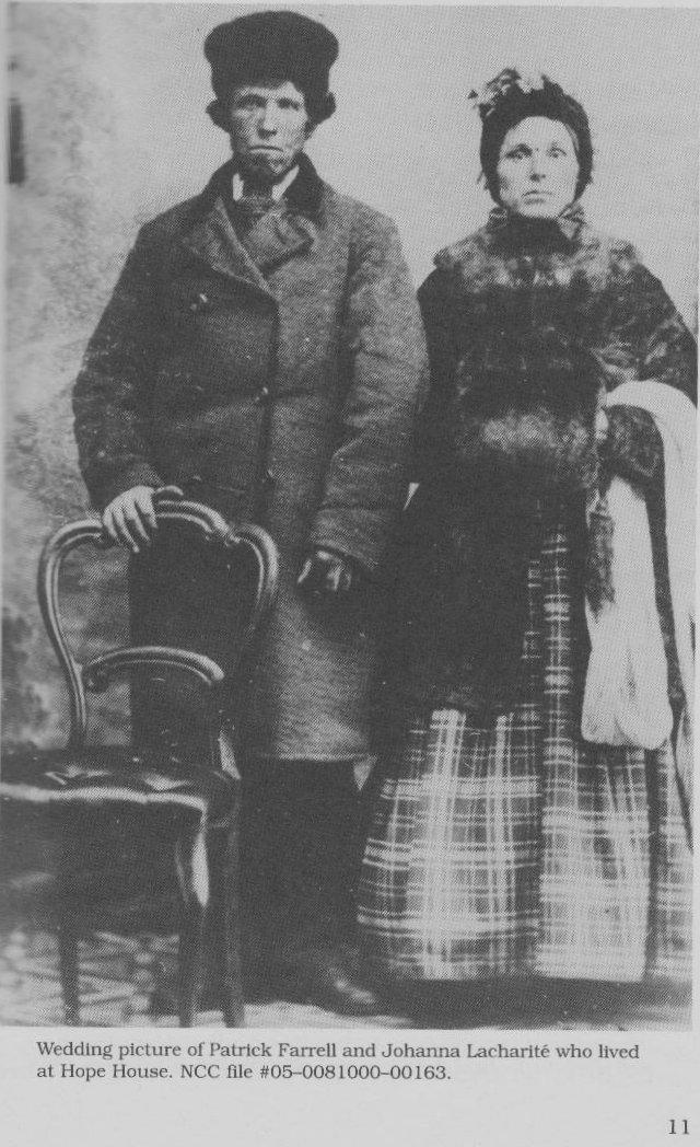 Patrick Farrell and Johanna Lacharity