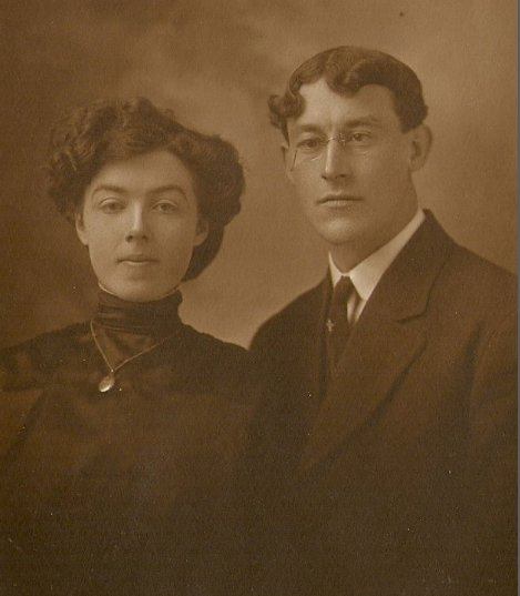 Photo of James Joseph Fenlon and Elizabeth Ludlow Murray