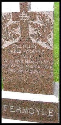 Grave of John Fermoyle - St. Patrick's Church at Fallowfield