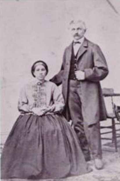 Jean Jacob Fink and Esther Campeau
