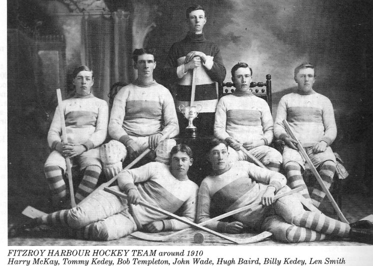 Fitzroy Harbour Hockey Team, c. 1910