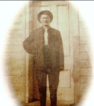 Photo of early Flansberry family member