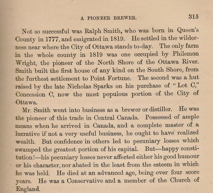 The Irishman in Canada, Nicholas Flood Davin, page 315