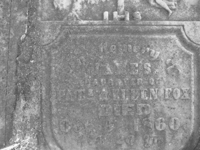 James Fox born c. 1791