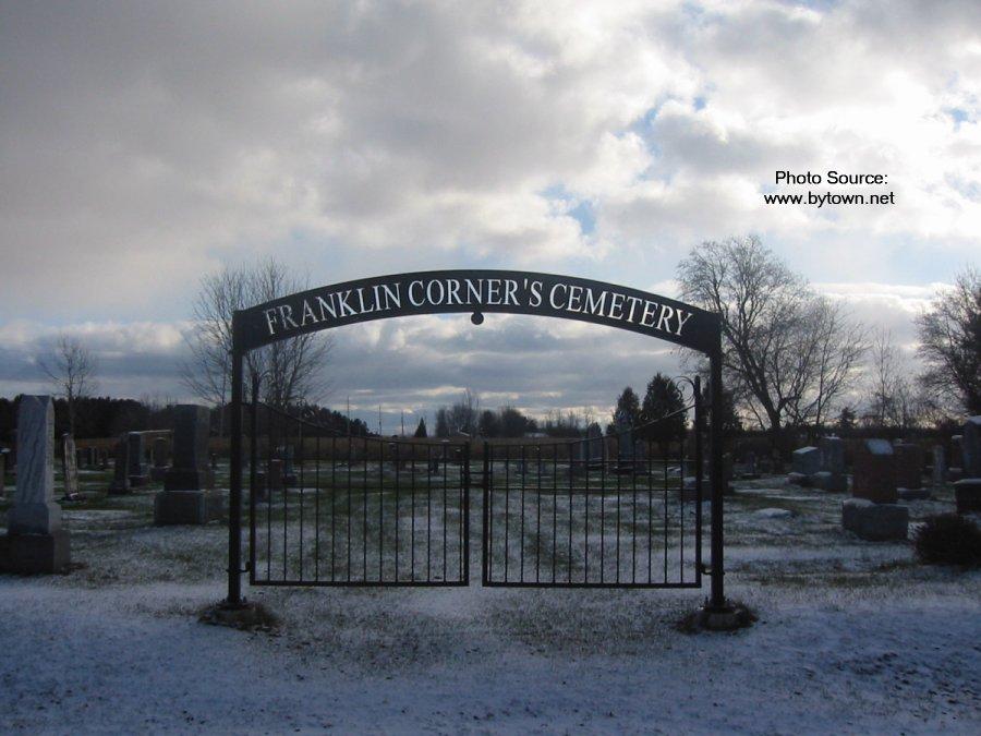 Franklin Corner's Cemetery, Riceville, Ontario, Canada