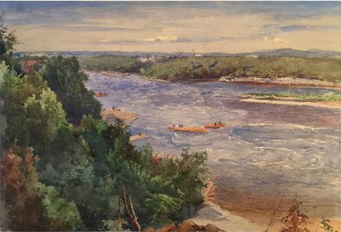 John Fraser Painting