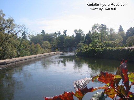 Hydro Dam at Galetta, Ontario, Canada
