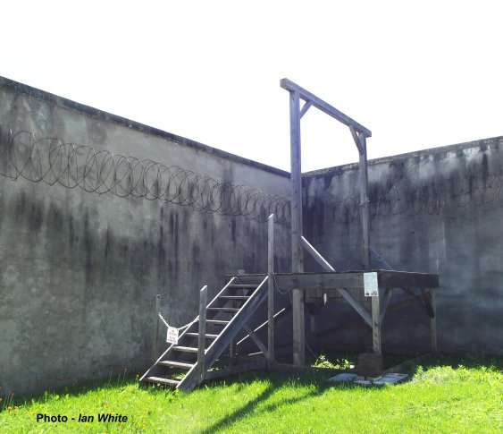 Gallows at the Jail in L'Orignal, Ontario, Canada