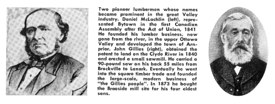 Picture of Lumber Barons, Daniel McLachlin and John Gillies