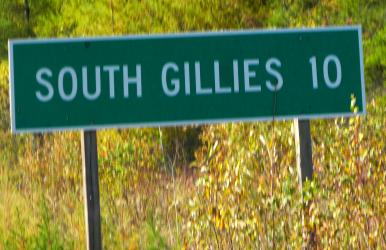 South Gillies Township, south of Thunder Bay (was Fort William and Port Arthur), Ontario, Canada