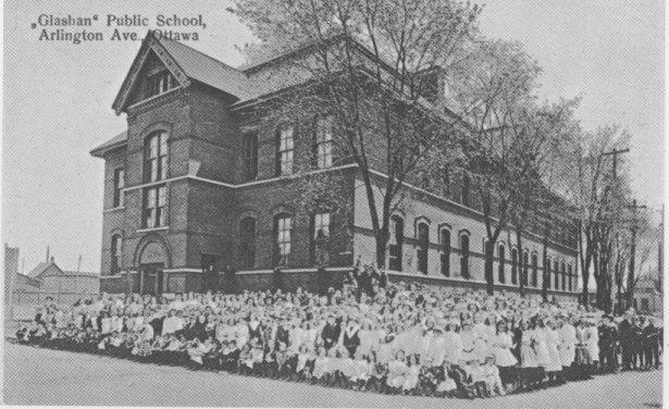Glashan Public School, 1905, Ottawa, Ontario, Canada