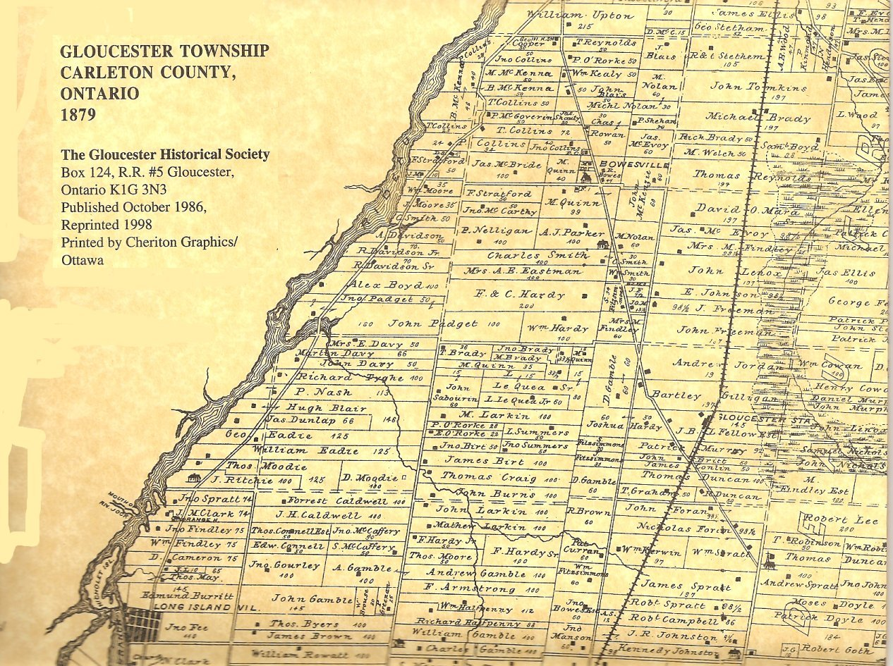Part of Gloucester Township in 1879