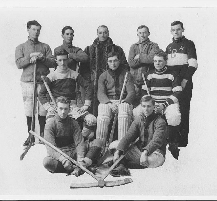 1916 Greely Hockey Team