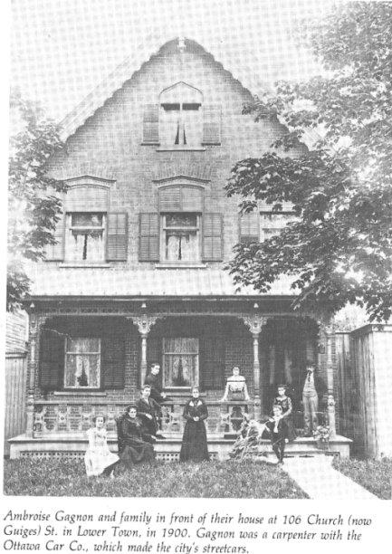 106 Guigues Street (was Church Street), Ottawa, Ontario, Canada
