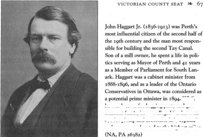Picture of John Haggart from Perth, Ontario