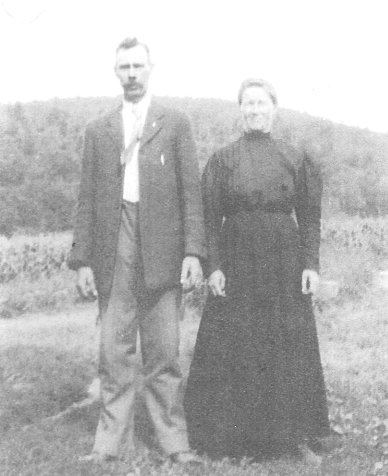William Heaney and Wife Margaret Ann in 1903