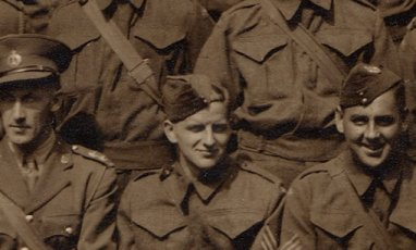 Kenneth Henderson, Canadian Forestry Corps in World War 2