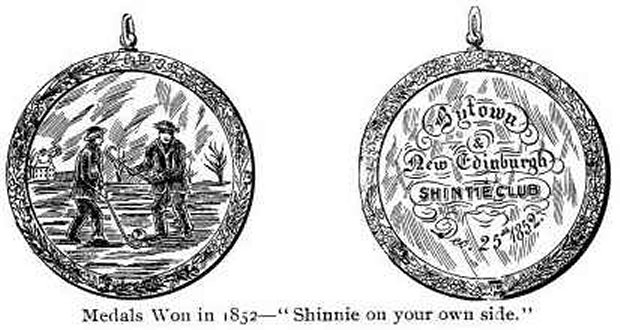 Bytown Shinnie Medal -- 1852