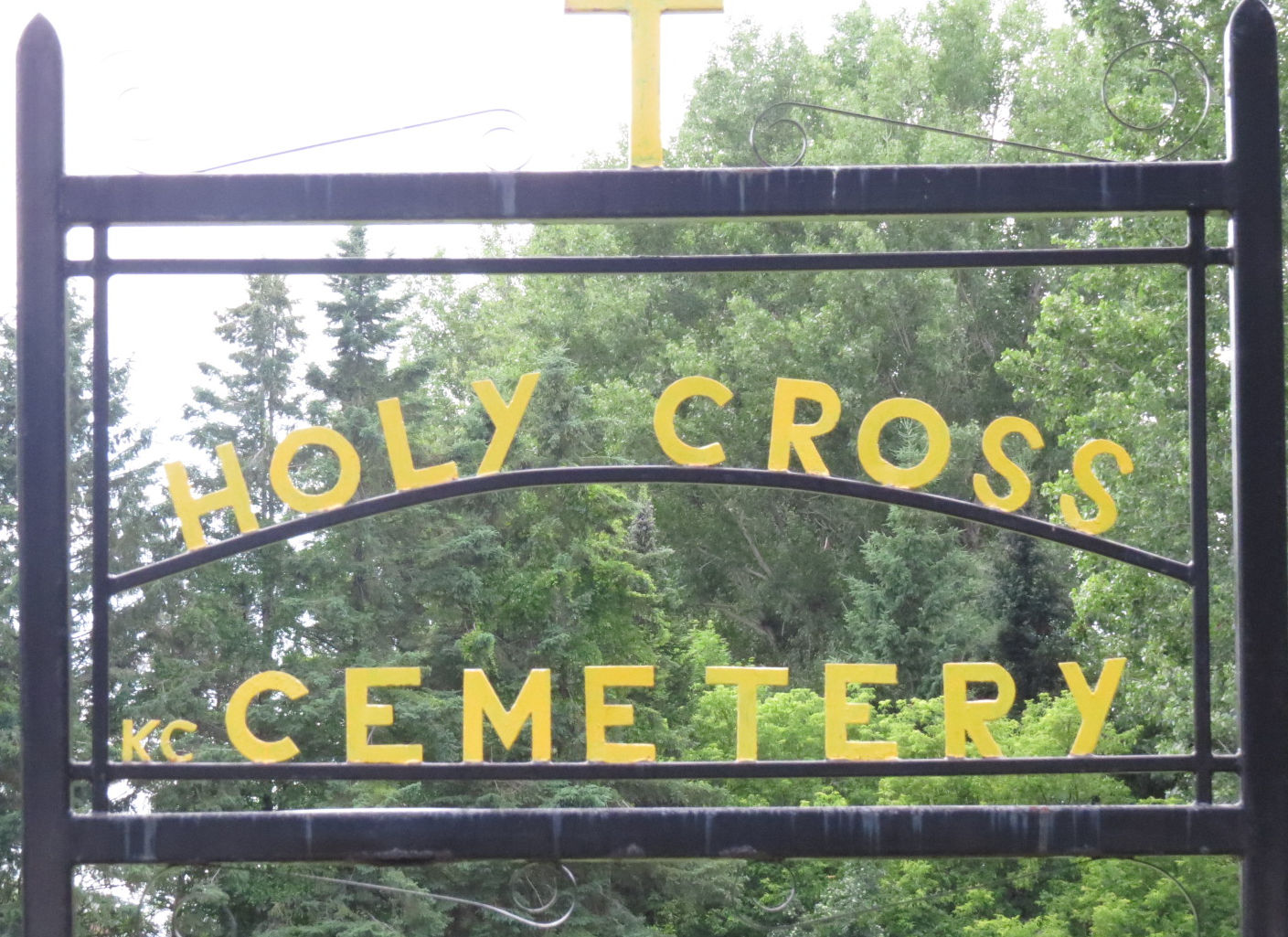 Holy Cross Cemetery in Kemptville, Ontario, Canada
