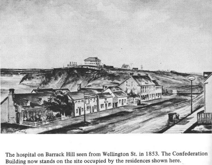 Hospital in Ottawa on Barrack Hill