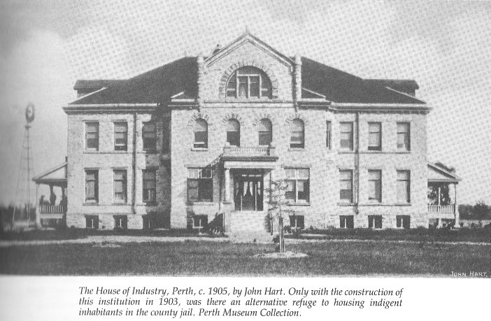 House of Industry, Perth, Ontario, Canada, 1905