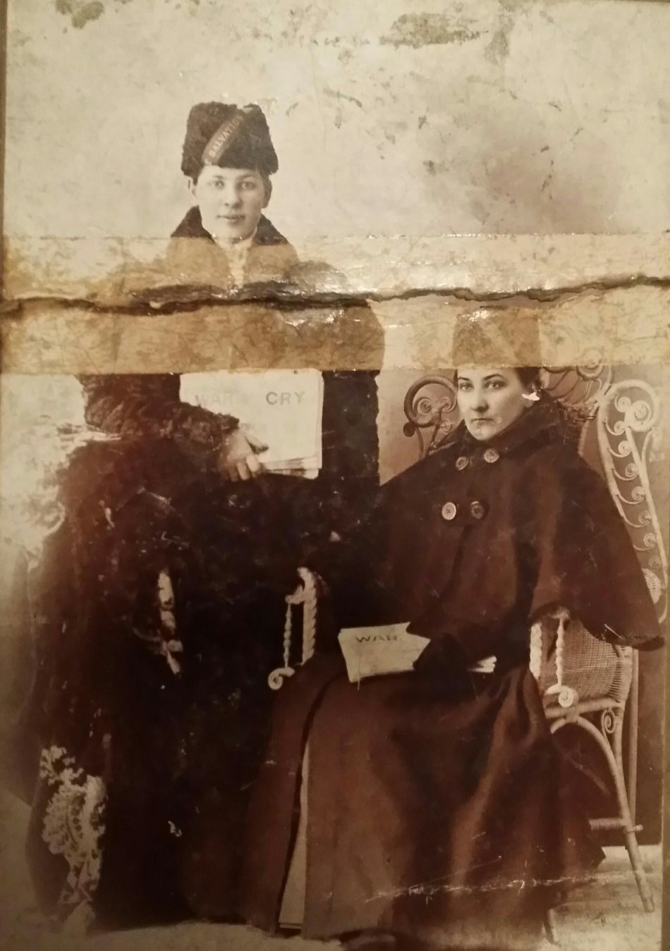Original Photo of William E. Hudson and Elizabeth Snyder Hudson, Pembroke, Ontario, Canada