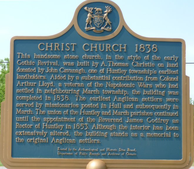 Christ Church Anglican at near Carp, Ontario, Canada