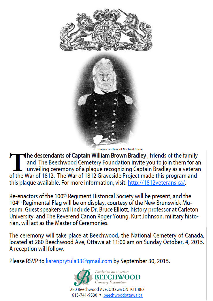 Captain William Brown BRADLEY
