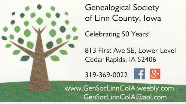 Genealogical Society of Linn County, Iowa