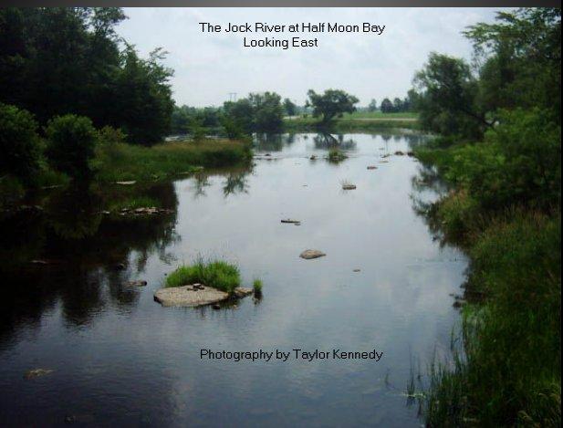 Jock River at Greenbank Road (Half Moon Bay), Ottawa, Canada)