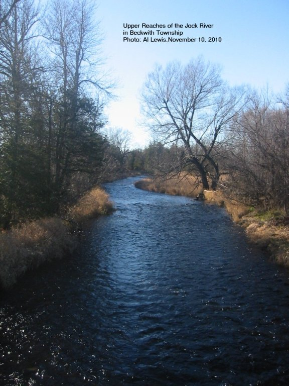 Late Autumn, The Jock River in Beckwith Township