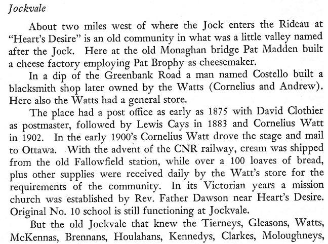 Jockvale text1 from Carleton Saga