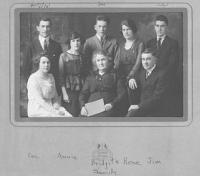 Family of Bridget Kavanagh, Vinton, Pontiac County, Quebec