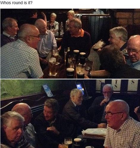 A Nice Scene in a Pub in Keady, County Armagh, Ireland
